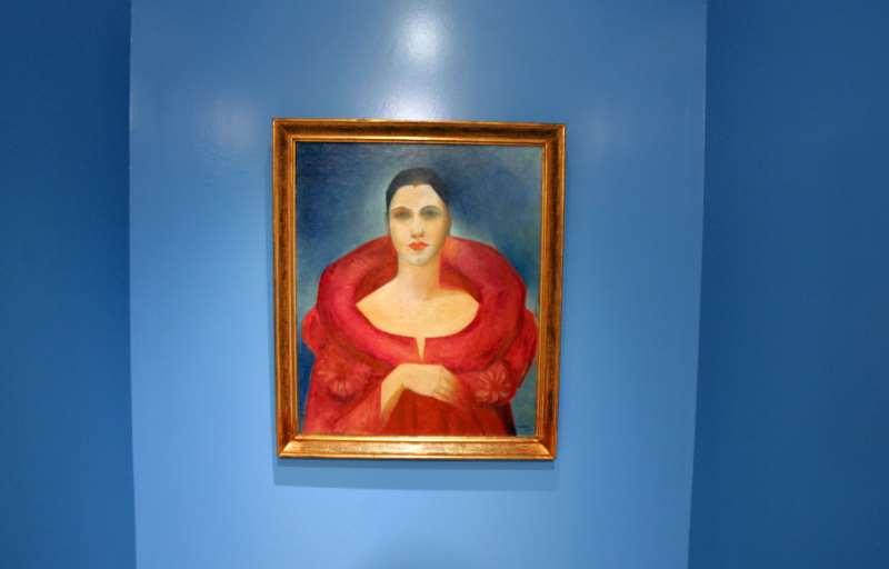 Autorretrato (1923) da artista brasileira foi exposto na Maison de l'Amérique Latine em Paris, em 2005