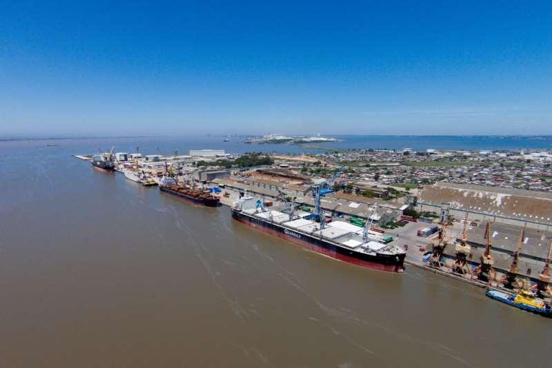 Porto do Rio Grande registra recorde na movimentação de cargas  Foto Divulgação SPH