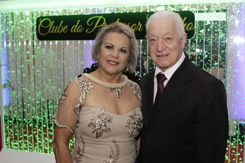 Iara e Silvio Malta no Clube do Professor Gaúcho