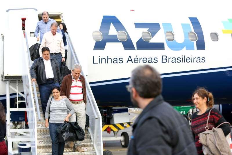 Azul opera 29 cidades, como Caxias do Sul, e garante que exclusividade amplia rentabilidade