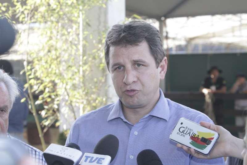 Secretário de Estado mostra as melhorias na infraestrutura para a Expointer 2016  na foto: Ernani Polo, Secretário de Agricultura do RS no Parque Assis Brasil