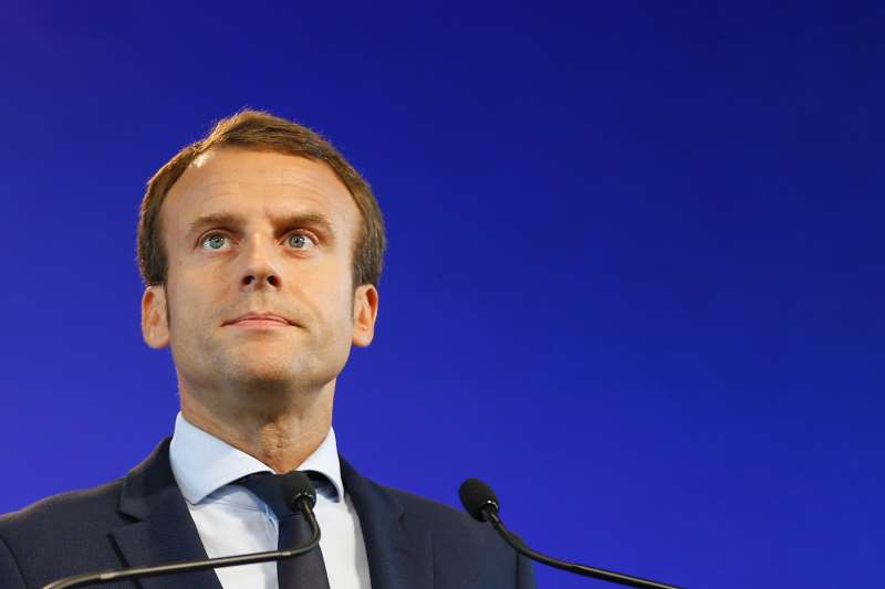 eco Emmanuel Macron AFP    France's former Minister of the Economy Emmanuel Macron looks on during a press conference on August 30, 2016 in Paris, following his resignation as economy minister. France's Emmanuel Macron resigned as economy minister on August 30, the presidency said, fuelling rumours the 38-year-old will stand for president in next year's elections. Macron quit