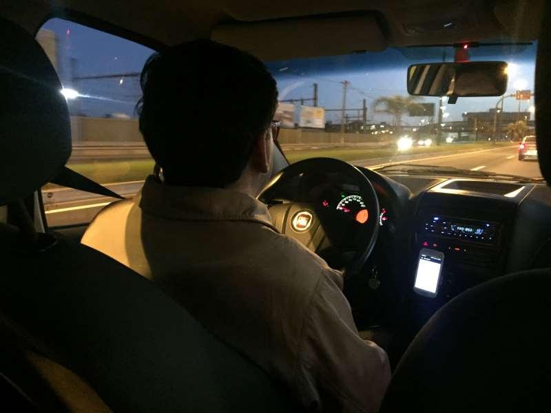 Site JC Uber motorista em Porto Alegre Crédito foto Patrícia Comunello Especial JC