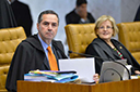 Barroso e Rosa Weber pagarão suas despesas na viagem a Israel