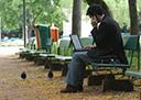 Um dos benefícios é poder trabalhar em qualquer localidade e horário