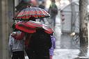 Semana começa com chuva forte e frio no Rio Grande do Sul
