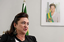 Senadora Kátia Abreu é internada no Sírio-Libanês em São Paulo com Covid-19