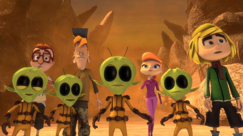 Produção nacional, Bugigangue no espaço tem crianças e alienígenas como protagonistas