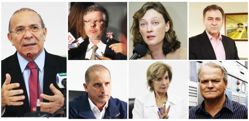 Na lista: Padilha, Marco Maia, Maria do Rosário, Onyx, Yeda Crusius, Kasper e Marco Arildo da Cunha