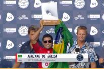 Mineirinho leva o título da etapa de Saquarema e chega à vice-liderança