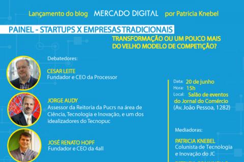 GeraçãoE levará três leitores para evento que fala sobre a relação entre startups e empresas tradicionais