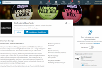 Empresa britânica anuncia vaga para degustador de cerveja no Linkedin