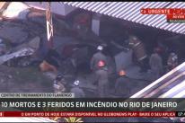 Incêndio no CT do Flamengo deixa 10 mortos e três feridos