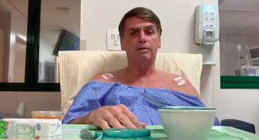 Equipe médica disse que Bolsonaro recebeu o aval para ter alta