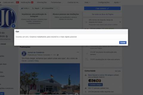Facebook e Instagram sofrem instabilidade e ficam fora do ar nesta quarta-feira