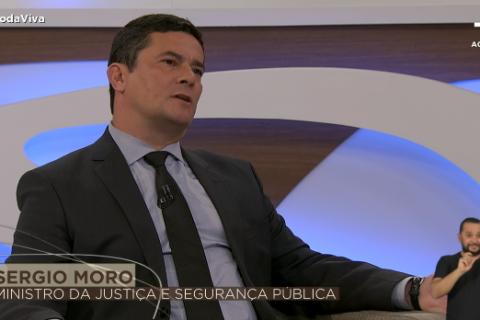 Na avaliação de Moro, Bolsonaro dá 'ampla liberdade à imprensa'