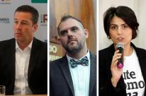 Alvo de críticas, Manuela evita confronto direto em debate com candidatos à prefeitura de Porto Alegre