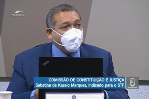 Kassio defende independência entre Poderes em sabatina no Senado