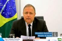 Pazuello diz que são no máximo três as opções de vacina contra a Covid para Brasil