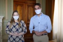 Em vídeo, Leite busca tranquilizar população e diz que RS tem estoque de seringas para a vacinação