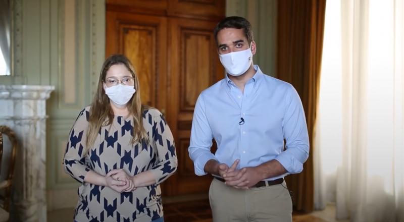Governador divulgou vídeo par tranquilizar a população gaúcha